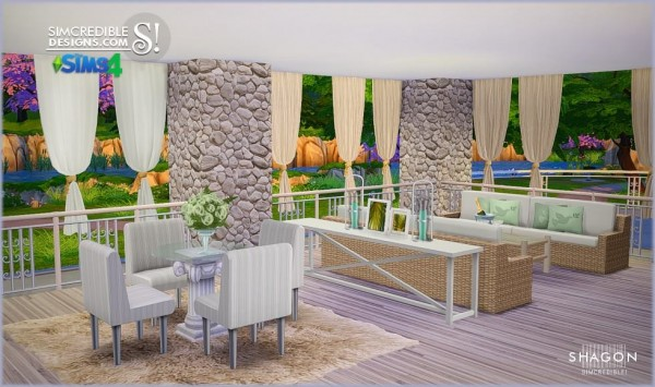 SIMcredible Designs: Shagon livingroom