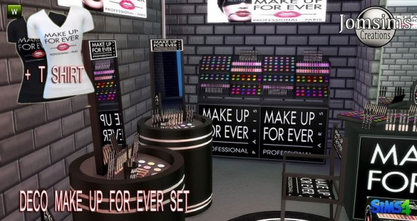 Jom Sims Creations: Make up forever pro