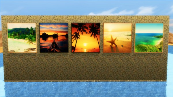 Marvin Sims: Large Tropical Landscapes