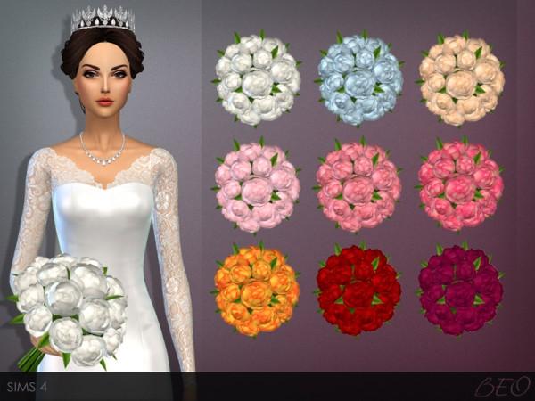 BEO Creations: WEDDING BOUQUET • Sims 4 Downloads