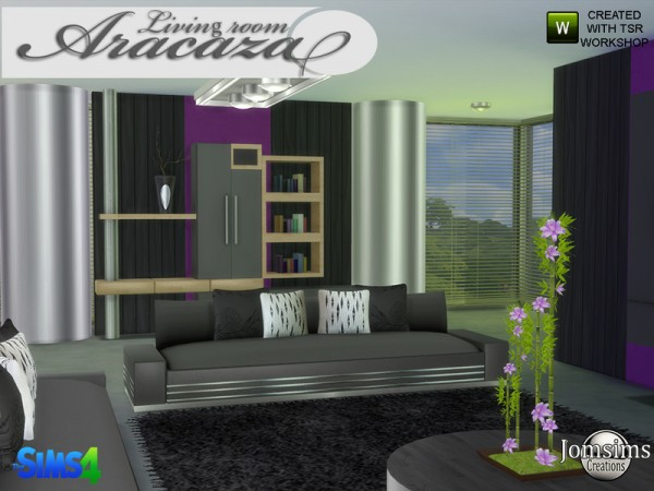 The Sims Resource: Aracaza livingroom