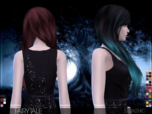 The Sims Resource: Stealthic   Fairytale hairstyle