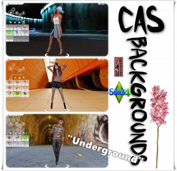 Annett`s Sims 4 Welt: CAS Backgrounds Underground