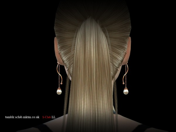 The Sims Resource: Earring 04 by S Club
