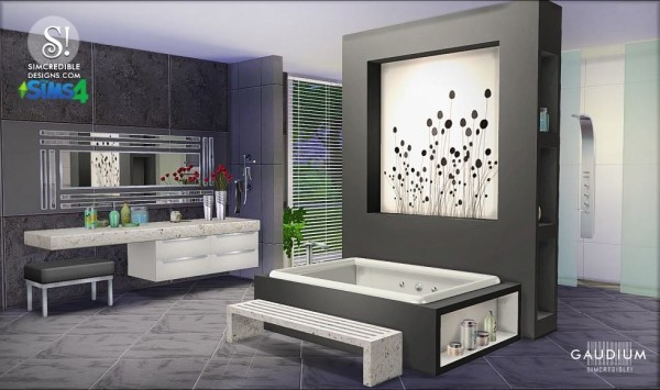 simcredible designs gaudium bathroom sims 4 downloads