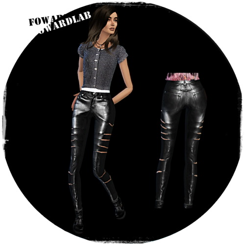 Fowardlab: Leather pants