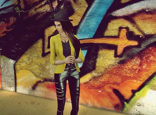Fowardlab: Leather pants