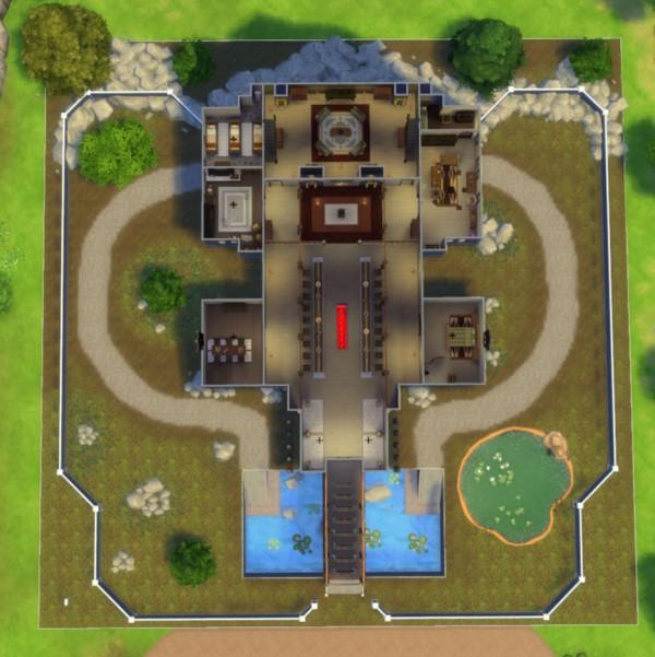 Mod The Sims Skyrim Dragonsreach By Sim4fun Sims 4