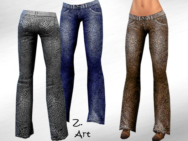 The Sims Resource: Newest Bootcut by Zuckerschnute20