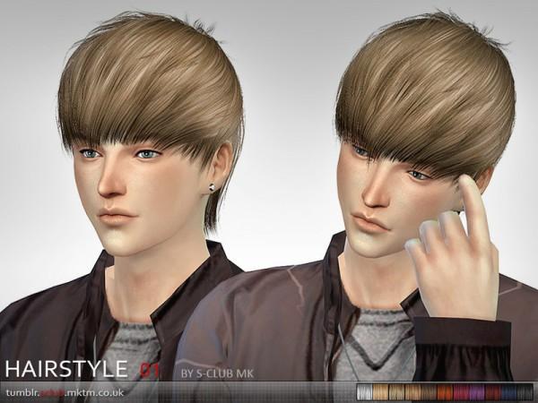 The Sims Resource: MK Hair 1