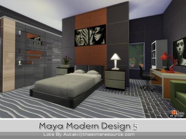 The Sims Resource: Maya Modern Design 5 by Autaki