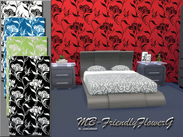 The Sims Resource: Friendly FlowerG by matomibotaki