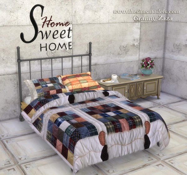 The Sims Models Blankets And Pillows By Granny Zaza