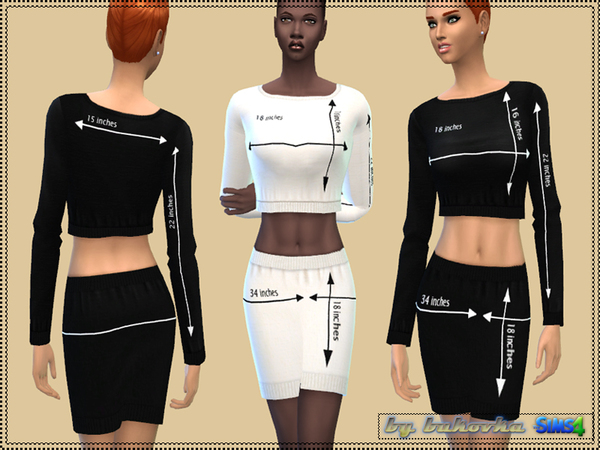 The Sims Resource: Set Fashion Size by Bukovka