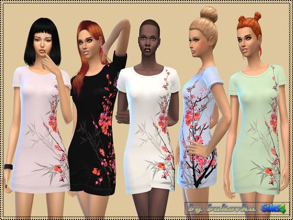 The Sims Resource: Dress Sakura by bukovka