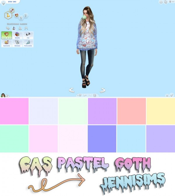Jenni Sims: Pastel Goth CAS Screens (12 Cas background)