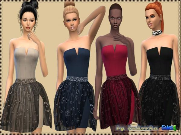 The Sims Resource: Corset Dress Circle by Bukovka