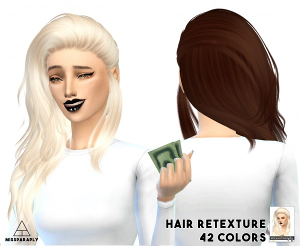Miss Paraply: Hair retexture   Nightcrawler 23 / 42 colors