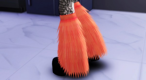 Decay Clown Sims: Fluffies boots