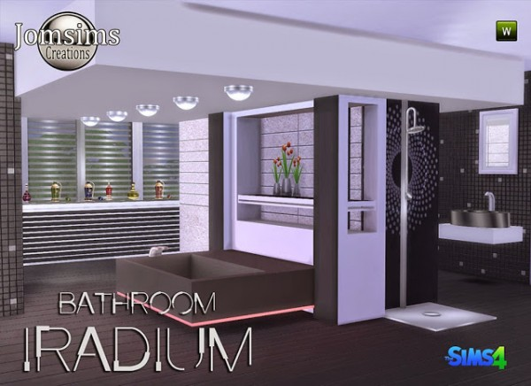 Jom Sims Creations New Bathroom Iradium Sims 4 Downloads