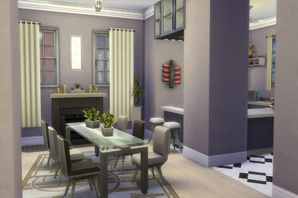 Blackys Sims 4 Zoo Modern American Dream By Simsatelier