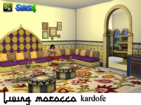 The Sims Resource Living Morocco By Kardofe Sims 4