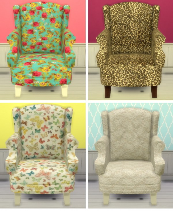 Sunshine Amp Roses Custom Content Executive Chair Recolors