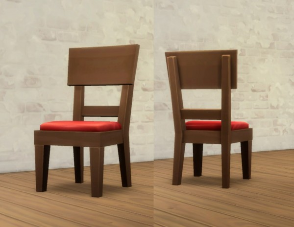 Mod The Sims: Solid Chair by plasticbox