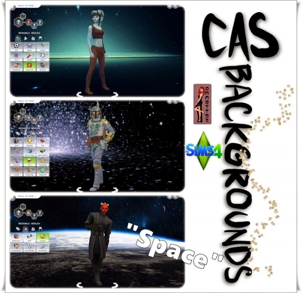 Annett`s Sims 4 Welt: CAS Backgrounds Space