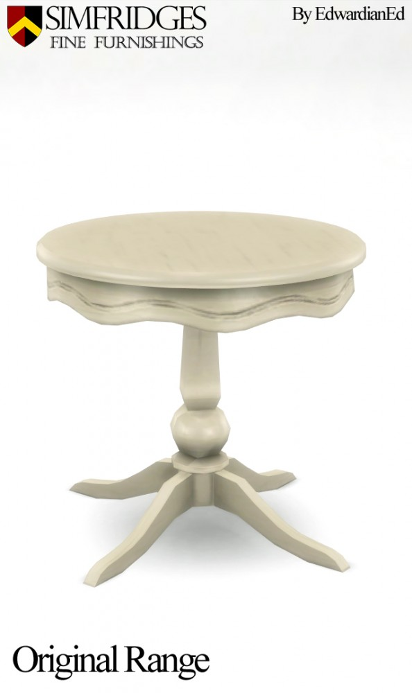 Mod The Sims: Another Era Dining Table by edwardianed
