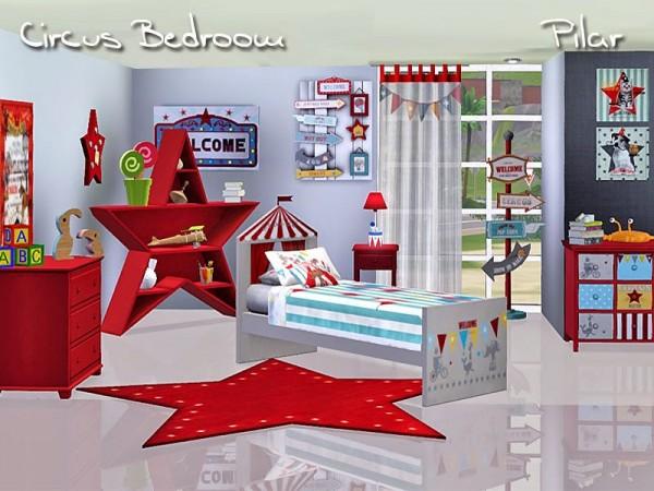 SimControl: Circus Bedroom by Pilar