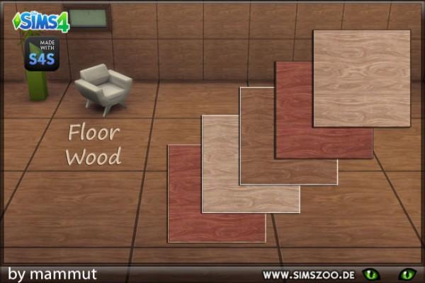 Blackys Sims 4 Zoo: Floor wood tiles 1 von mammut