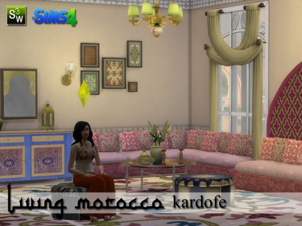 The Sims Resource: Living Morocco by Kardofe