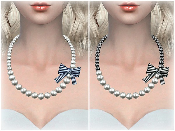 The Sims Resource: Necklace N04 by S Club