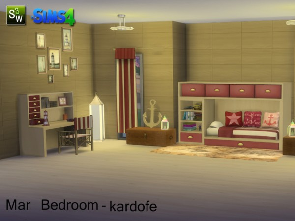 The Sims Resource Mar Bedroom By Kardofe Sims 4 Downloads