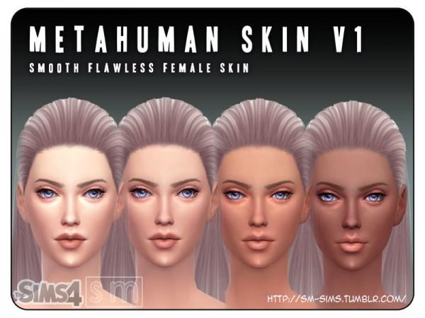 The Sims Resource: Metahuman   V1 Female Skin by Screaming Mustard