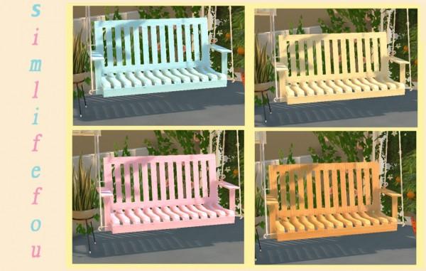 Simlife: Porch Swing