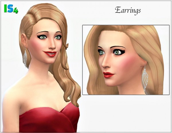 Irida Sims 4: Earrings 1IS4