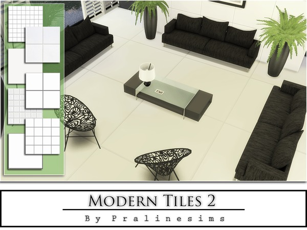 The Sims Resource: Modern Tiles 2 by Praline Sims