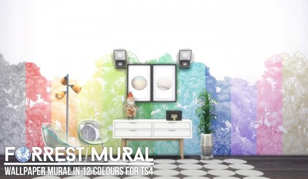 Simsational designs: Forrest Mural