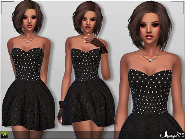 Sims 3 Addictions: Millie Skater Dress by Margies Sims