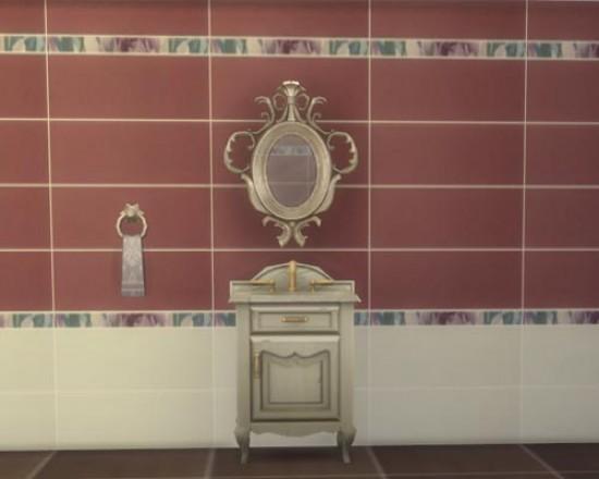 Sims 3 by Mulena: Ceramic tile Diplomatic