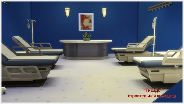Sims 3 by Mulena: Hospital Stones