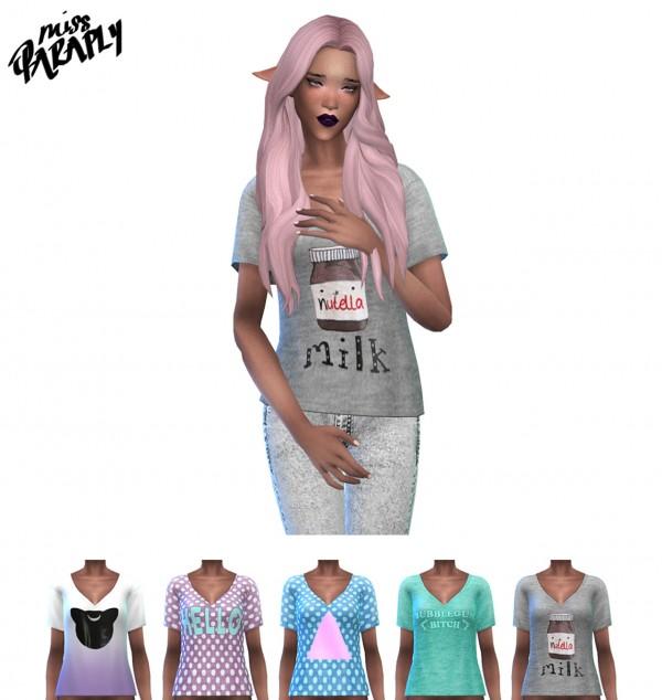 Miss Paraply: Lola May's loose t shirt