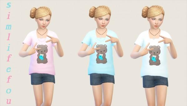 Simlife: Baby girls top