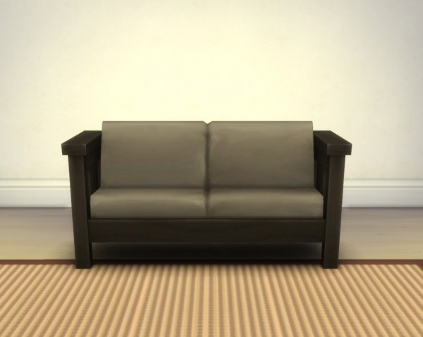 Mod The Sims: Mega Sans Loveseat by plasticbox