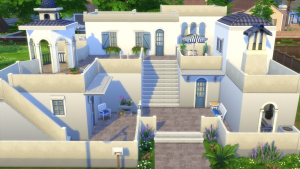 Totally Sims Greek Dream House Sims 4 Downloads