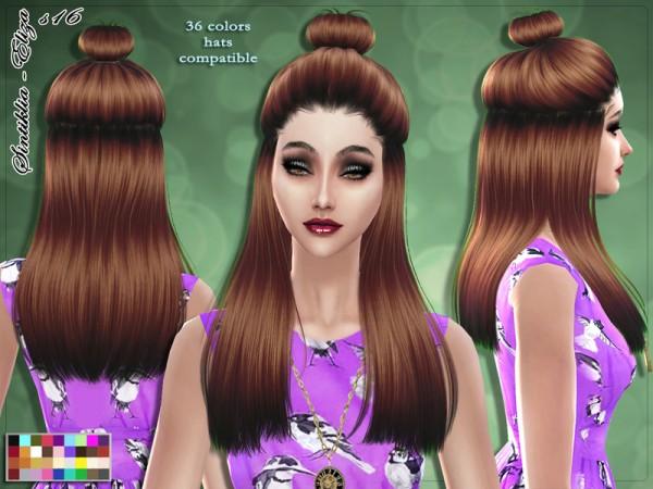 The Sims Resource: Sintiklia   Hair s16 Eliza