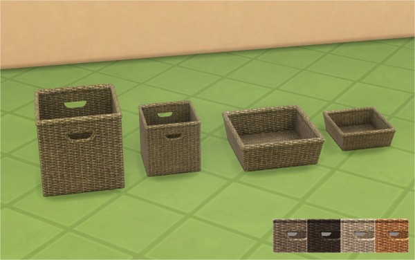 Veranka: Woven Wicker Baskets