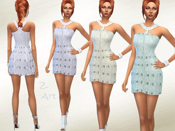 The Sims Resource: Summer Linen dress by Zuckerschnute20
